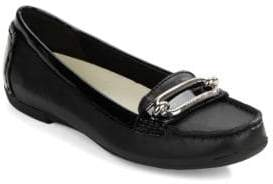Anne Klein Noris Leather Loafers