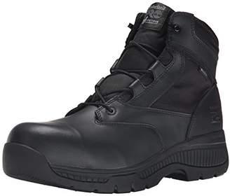Timberland Men's 6 Inch Valor Comp Toe Waterproof Side Zip Work Boot