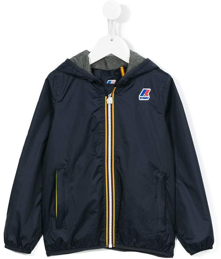 K Way Kids 'Jacques' Kapuzenjacke