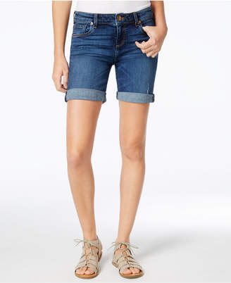 Kut from the Kloth Catherine Cuffed Denim Shorts $59 thestylecure.com