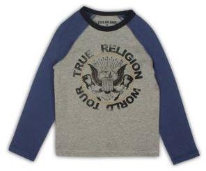True Religion Toddler's, Little Boy's & Boy's Rocker Colorblock Graphic Tee $45 thestylecure.com