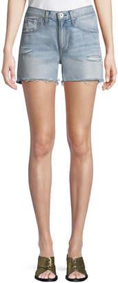 Rag & Bone Cutoff Distressed Denim Shorts