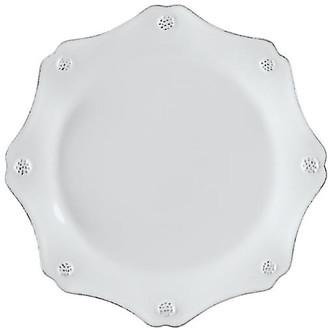 Juliska Berry & Thread Scalloped Dessert Plate - White