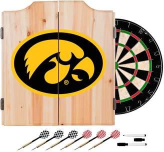 Kohl's Iowa Hawkeyes Wood Dart Cabinet Set