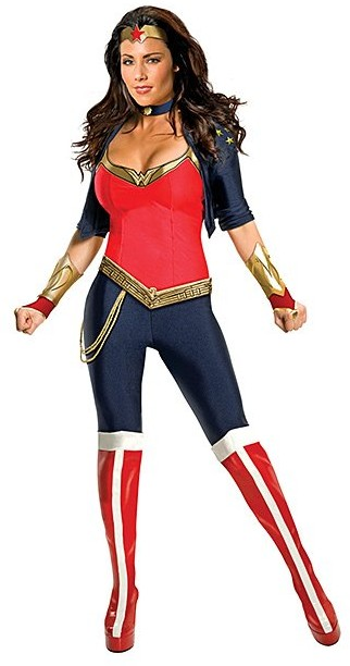 Wonder Woman Leggings Dress-Up Set - Women