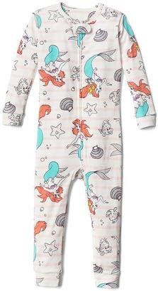 babyGap | Disney Baby Little Mermaid sleep one-piece $34.95 thestylecure.com