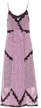 Coach Floral-printed maxi dress