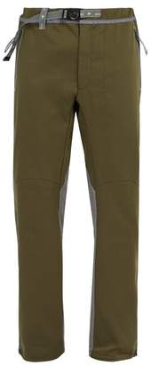 And Wander - Air Hold Panelled Technical Trousers - Mens - Khaki