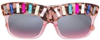 Mica Delalle DeMURE sunglasses