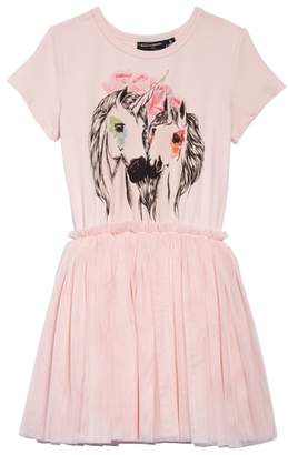 Rock Your Kid Unicorn Love Circus Dress