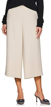 Giorgio Armani Women's Wool-Angora Wide-Leg Trousers