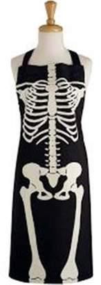 Design Imports Skeleton Print Chef Apron