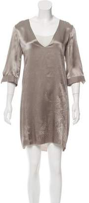 Schumacher Laser Cut Silk Dress w/ Tags