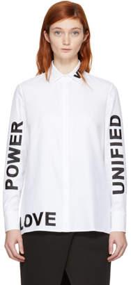 Versace White Love, Power, Unified Shirt
