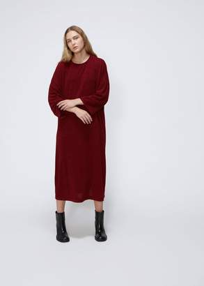Nocturne #22 Long Sleeve Round Neck Dress