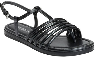 Aerosoles Casual Ankle-Strap Flat Sandals - Droplet