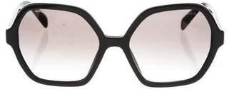 Prada Gradient Logo Sunglasses