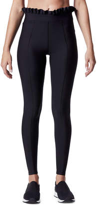 Carbon38 Carbon 38 Full-Length Ruffle Leggings