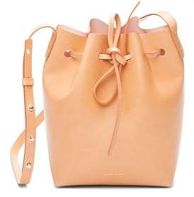 Mansur Gavriel Vegetable Tanned Leather Mini Bucket Bag