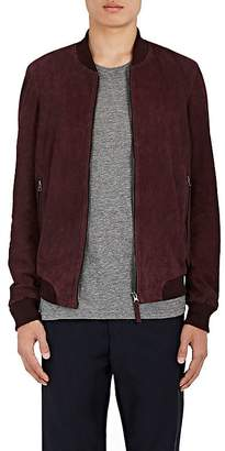 Barneys New York Lot 78 x LOT 78 X MEN'S SUEDE BOMBER JACKET