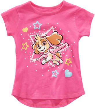 Nickelodeon Paw Patrol Toddler Girls Star T-Shirt
