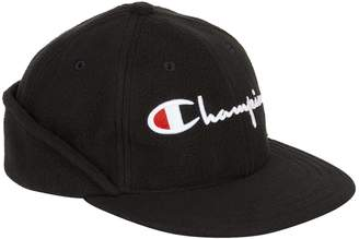 Champion Logo Fleece Cap