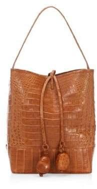 Nancy Gonzalez Crocodile Bucket Bag