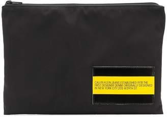 Calvin Klein Jeans Est. 1978 logo pouch