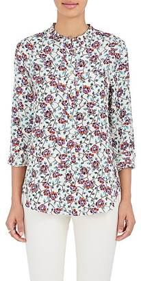 Isabel Marant Women's Rusak Silk Georgette Blouse $445 thestylecure.com