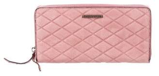 Rebecca Minkoff Quilted Zip Wallet w/ Tags