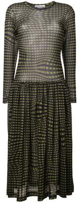 DAY Birger et Mikkelsen Molly Goddard Tegen checked dress