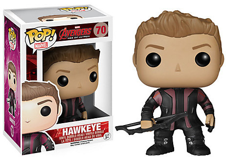 Hawkeye Pop! Vinyl Bobble-Head Figure by Funko - Marvel's Avengers: Age of Ultron