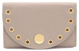 See by Chloe Kriss embellished leather card holder
