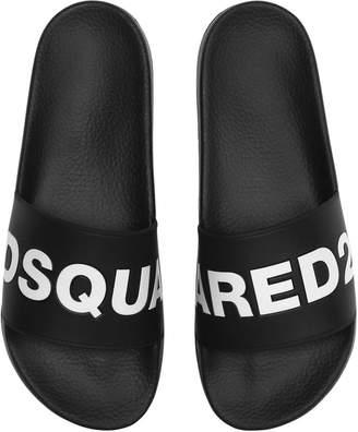 DSQUARED2 Logo Rubber Slide Sandals