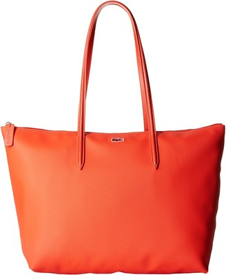 Lacoste L.12.12 Concept Large Shopping Bag $98 thestylecure.com