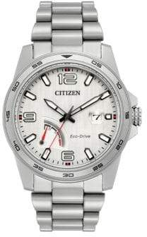Citizen PRT Eco-Drive Stainless Steel Analog Bracelet Watch