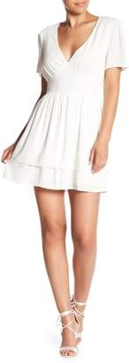 Honeybelle Honey Belle Layered V-Neck Dress