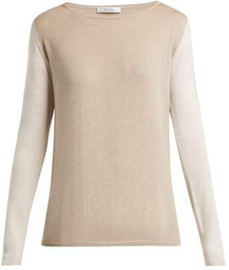 Max Mara Nardo Sweater - Womens - Beige Multi