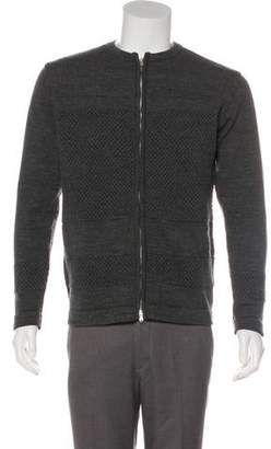 Norse Projects Bubble Zip Wool Sweater