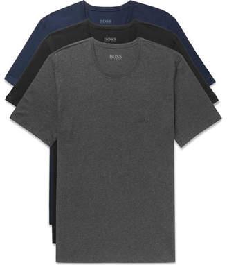 HUGO BOSS Three-Pack Cotton-Jersey T-Shirts