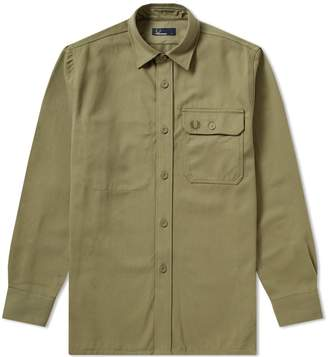Fred Perry Authentic Twill Utility Overshirt