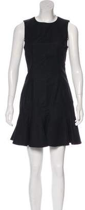 Derek Lam Sleeveless A-Line Mini Dress