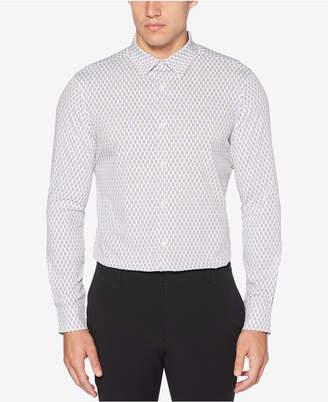 Perry Ellis Men's Slim-Fit Zig-Zag Print Shirt