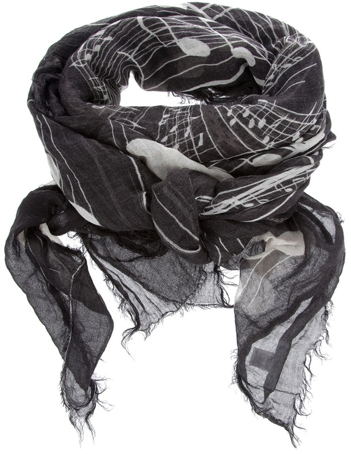 Ottotredici 'Viola' scarf