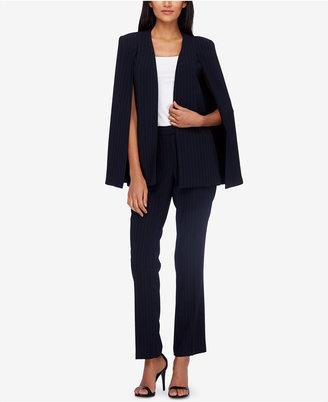 Tahari Asl Cape-Blazer Pantsuit $300 thestylecure.com