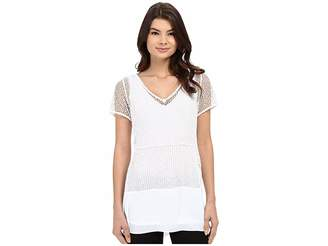 Lysse Elena Lace Top Women's Clothing