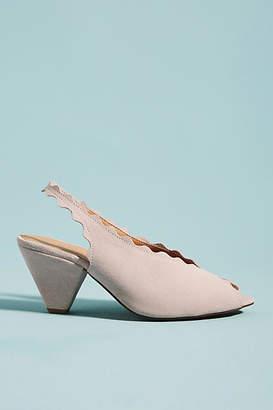Klub Nico Amelia Scalloped Slingback Heels