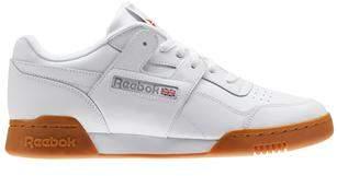 Reebok Workout Plus Leather Shoe White Gum