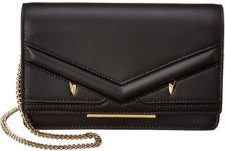 Fendi Monster Leather Wallet On Chain