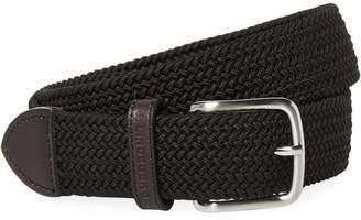 J. Lindeberg Golf Men's Chapper 35 Cow Leather Belt
